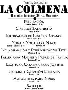 Colmena Junio