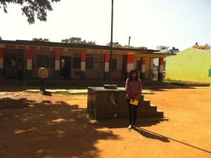 At Ramagondanahalli Government school.