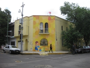 pared vista de kikis