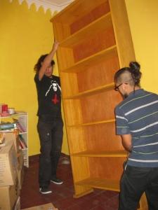 moving in shelves